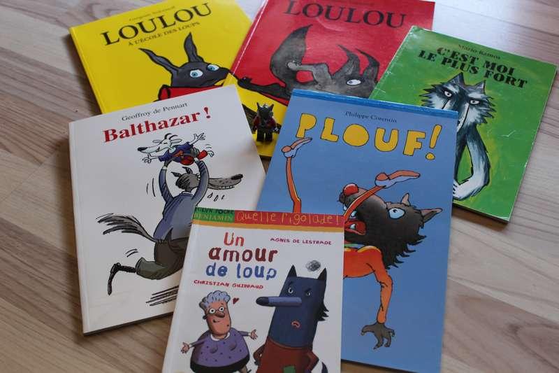 Livre Pour Enfants Des Loups Sous Toutes Les Coutures 1