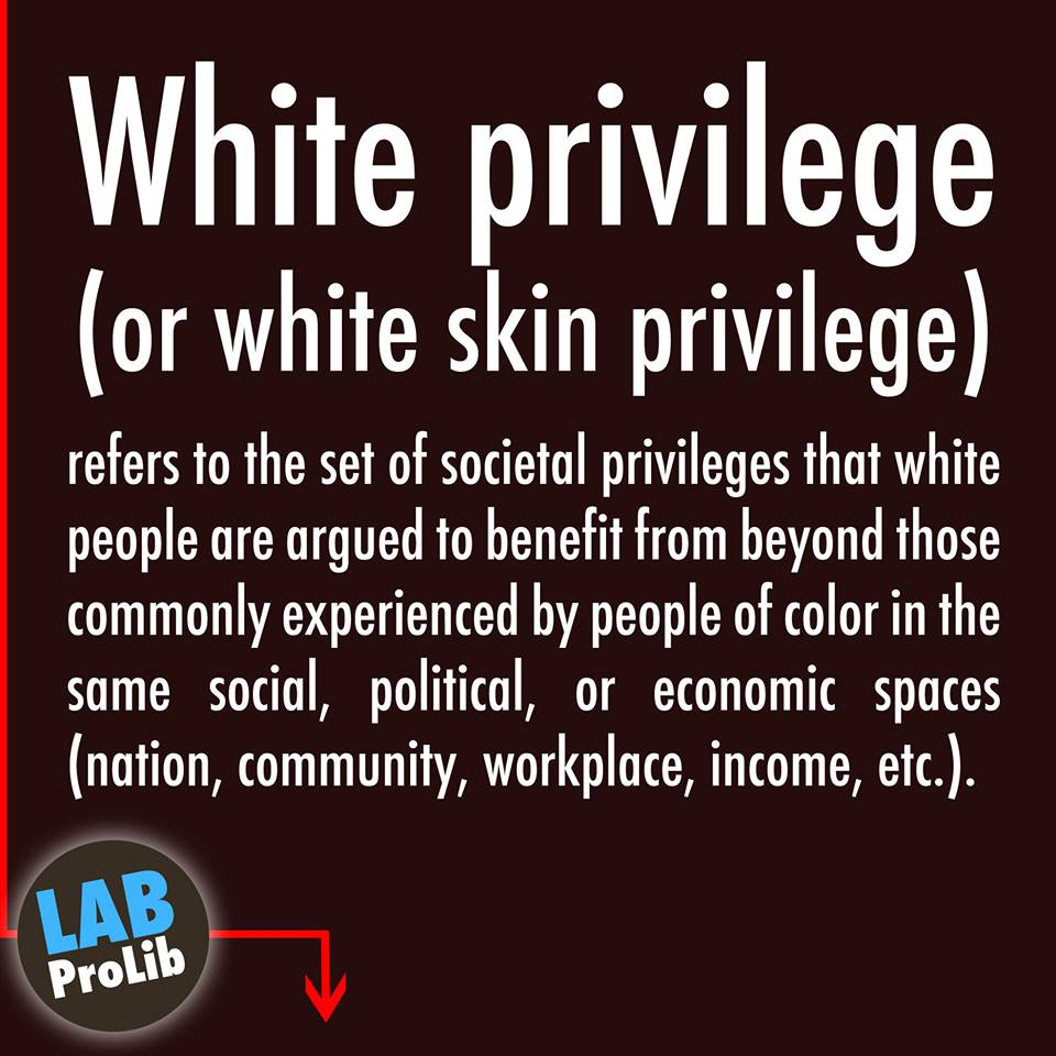 white privilege White privilege is a complicated and often controversial issue that has gained attention in recent years through this lesson, you will learn how.