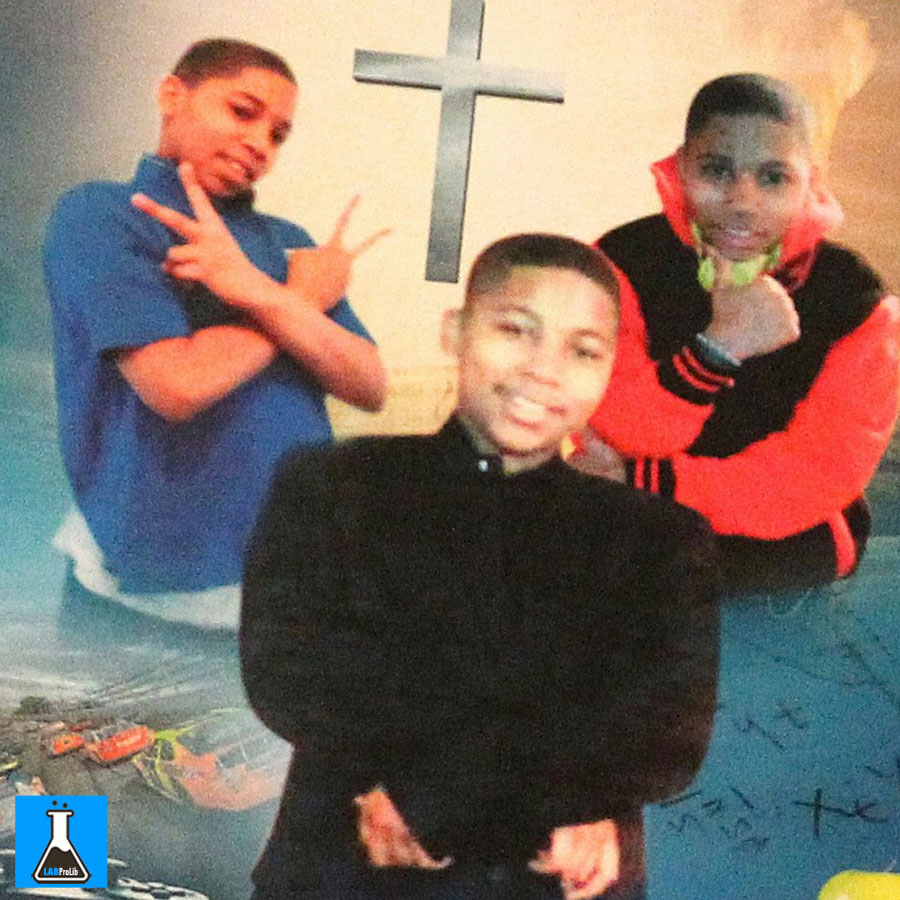 Tamir Rice was only 12-years-old but officers allegedly thought he was a grown man. Photograph: Aaron Josefczyk/REUTERS