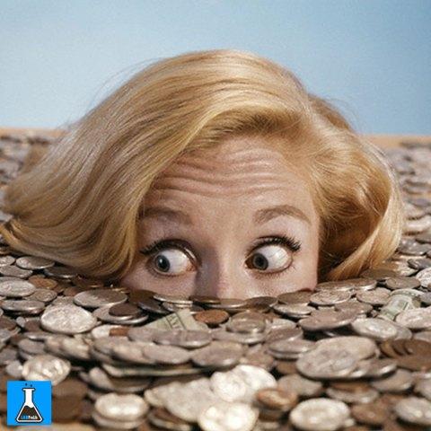 money-woman