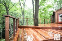 Cumaru Deck with Stainless Steel Cable Railings ...