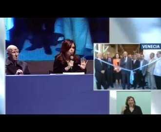 CFK sobre Leonardo y Miguel Ángel