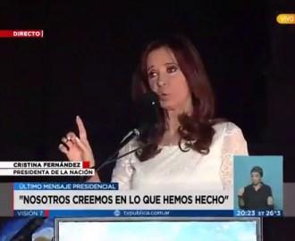 """CFK: """"A las 12 me convierto en calabaza"""""""