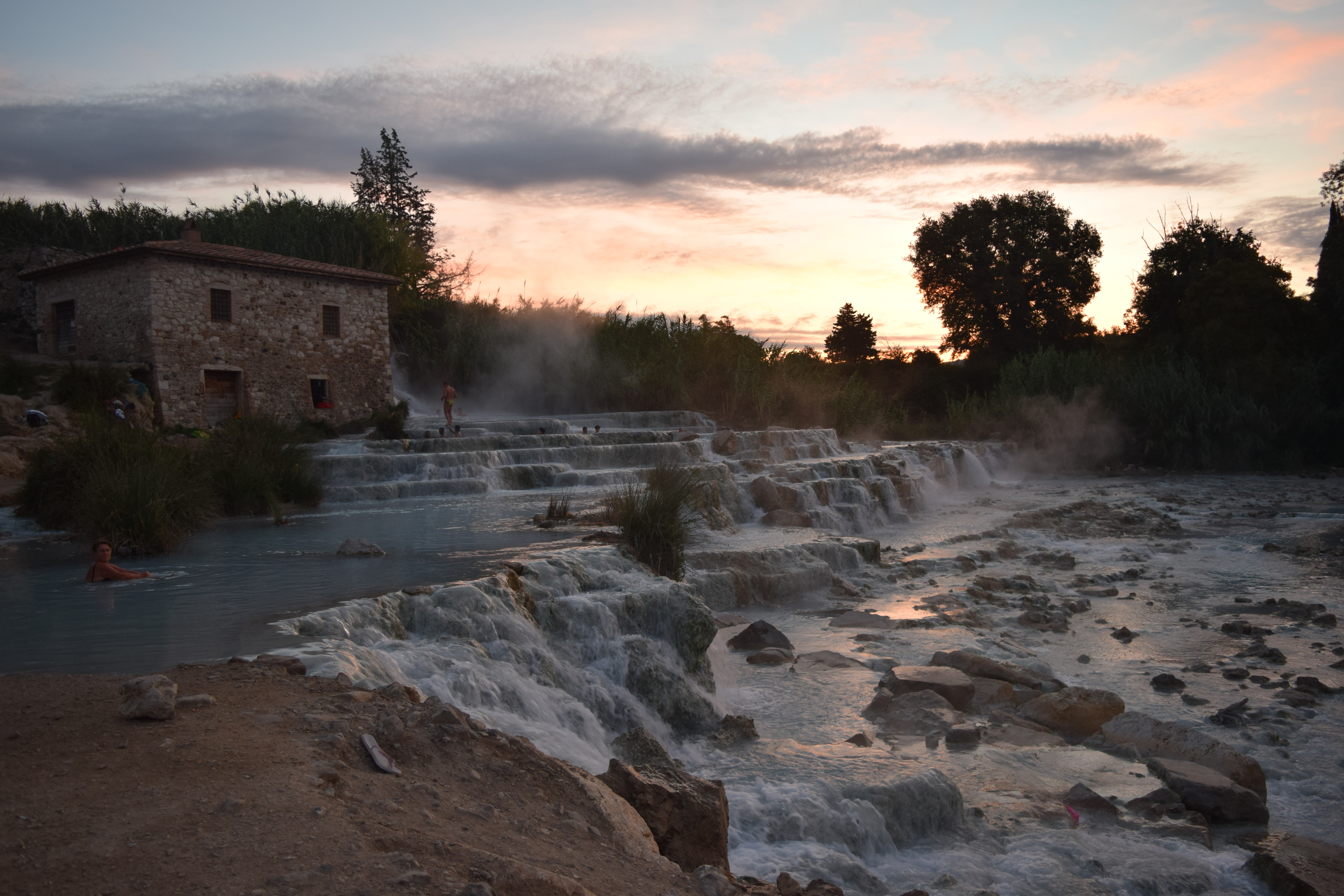Bagno Vignoni Free Thermal Baths 3 Heavenly Hot Springs In Tuscany La Brutta Figura