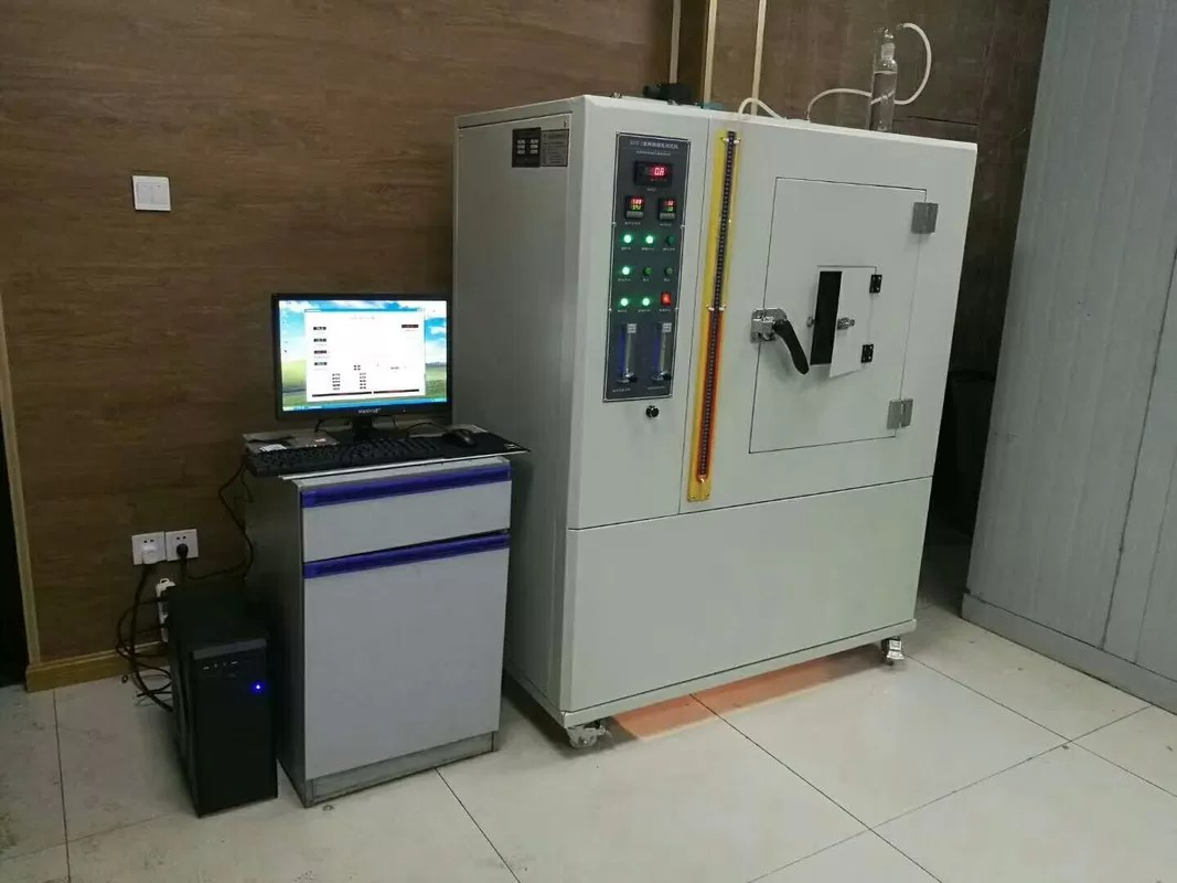 Density Testing 3500w Nbs Plastic Rubber Smoke Density Testing Machine Iso 5659