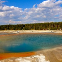 Yellowstone National Park: Grand Prismatic Spring