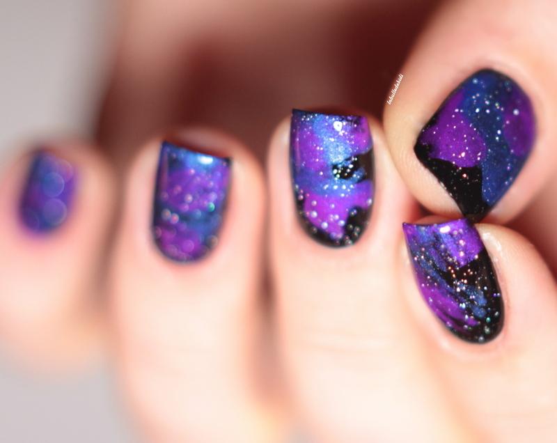 Neon Lilypad et marble galaxy