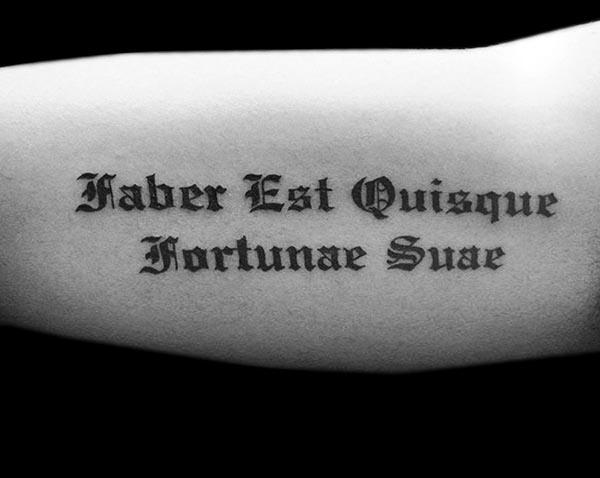 Las mejores letras para tatuajes - La Caligrafía - Letras Para Tatuajes