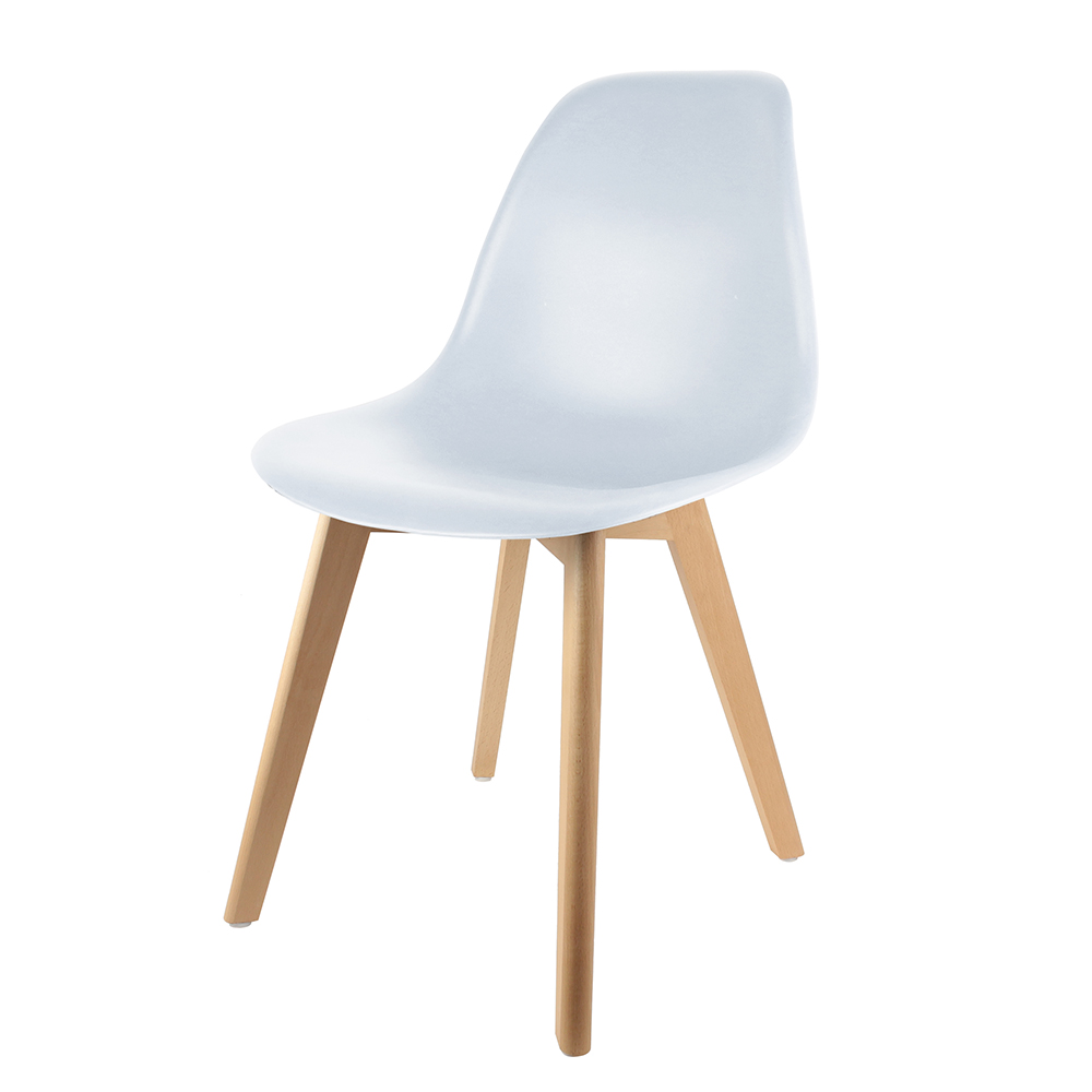 Chaises Blanche Scandinave Chaise Scandinave Coque Pp Blanche