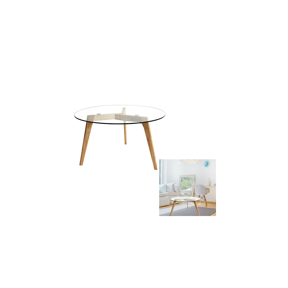 Table Ronde 80 Cm Table Ronde En Verre Diam 80 Cm