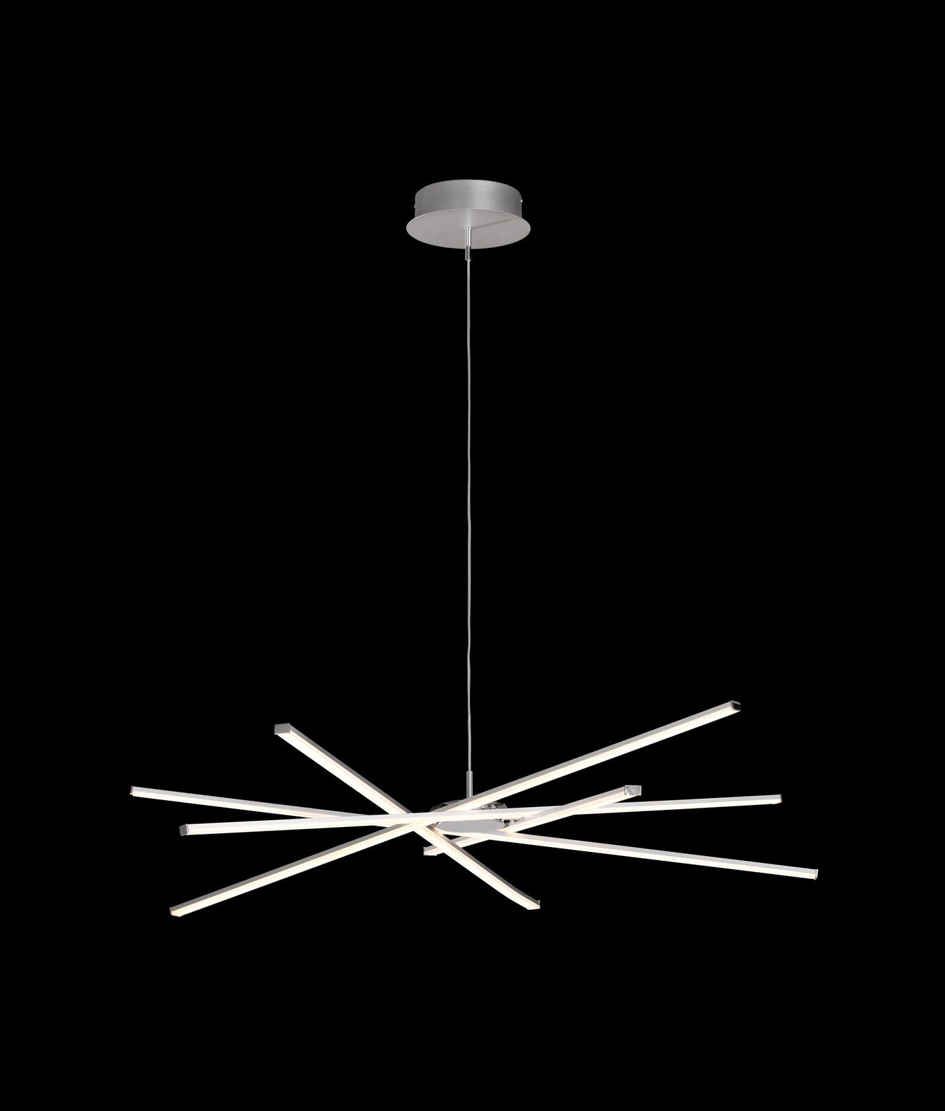 Lamparas Salon Modernas Led Lámpara Colgante Moderna Dimmable Star Led La Casa De La
