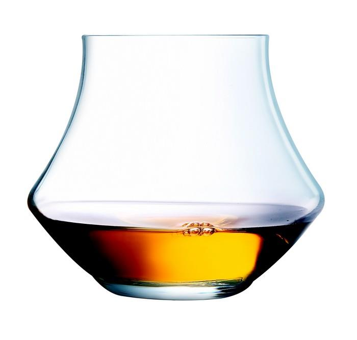 Verre Wisky Open Up Warm Verre à Whisky Rhum 29 Cl En Kwarx - Les 6