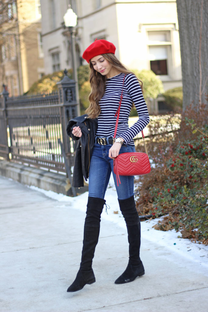 Vacation Wardrobe Blog How To Style Berets 29 Striped Tee You Need In Your