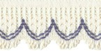 1'' Cotton Blend Lace Trim - 2 Colors1'' Cotton Blend Lace Trim - 2 Colors