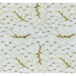 Ivory and Metallic Gold Lace - 13