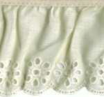 2 7/8'' Eyelet Gathered Lace2 7/8'' Eyelet Gathered Lace