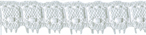 7/16'' White Lace Trim7/16'' White Lace Trim
