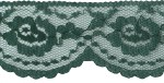 2'' Hunter Green Lace Trim2'' Hunter Green Lace Trim