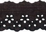 2'' Black Eyelet Lace Trim2'' Black Eyelet Lace Trim