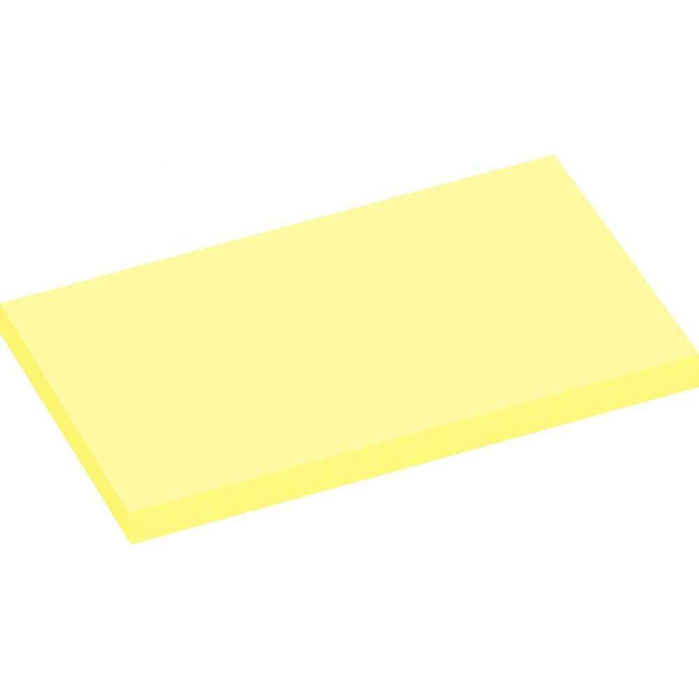 Bloc Note De Bureau Bloc Note Repositionnable 76x127 Jaune 100 Feuilles Lot De 12