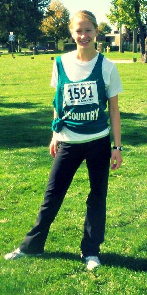 My little high school runner self