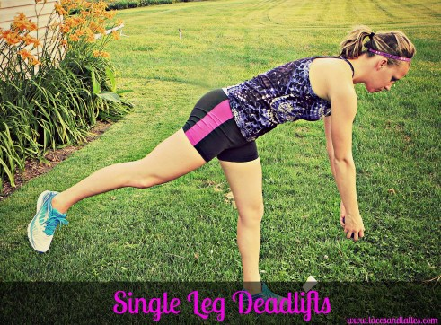 Single Leg Deadlifts