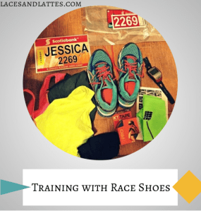 Training with Racing Shoes
