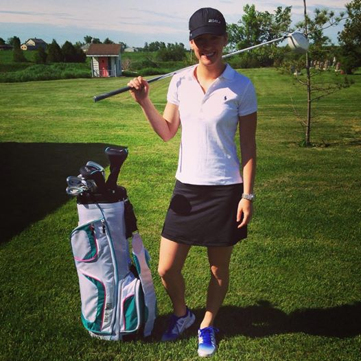 Golfing to celebrate National Running Day. (Fail)