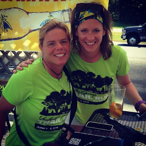 Kim - my partner in crime and team mate for Transrockies 120 Miler next year!
