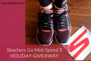 Holiday Giveaway #4: SKECHERS GoMeb Speed 3