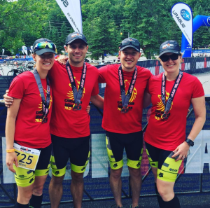 Genuine Health Ironman 70.3 Team: Race Report