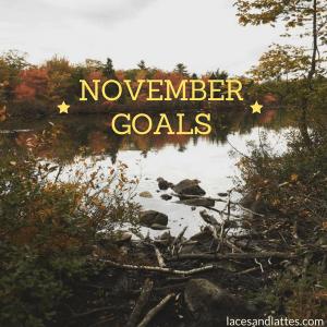 Goals for November