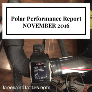 Polar Performance Report – November 2016