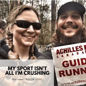 My Sport Isn't All I'm Crushing – Vision Loss