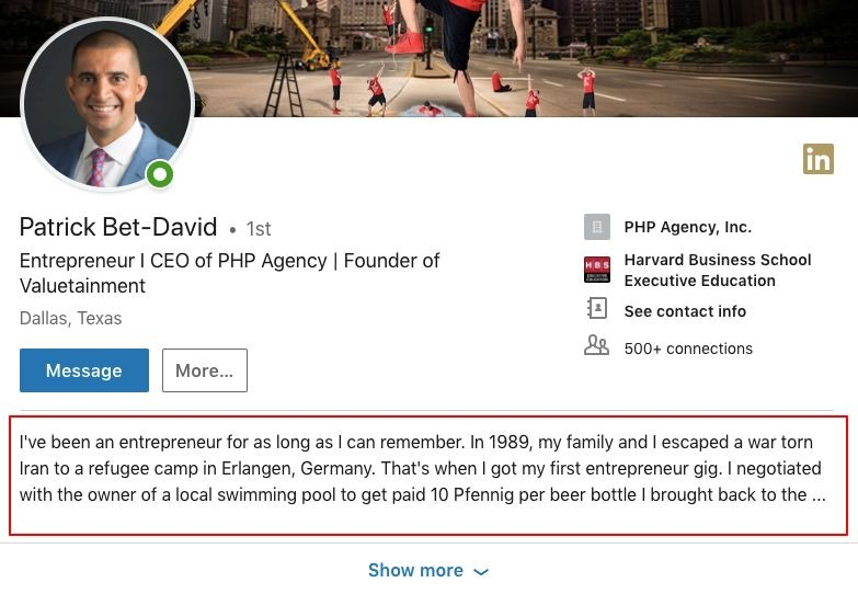 How To Write A LinkedIn Summary Tips For The Savvy Professional