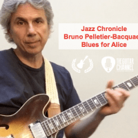"""Blues for Alice"" (Part 2/6) by Bruno Pelletier-Bacquaert (@BrunoPelbac) - 3 note voicings"
