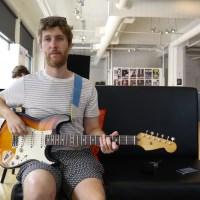 Interview Nir Felder durant le Festival de Jazz de Montréal