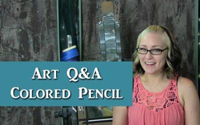Q&A Colored Pencil