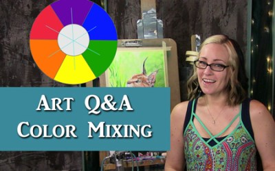 Art Q&A Colors are too Bold