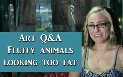Art Q&A Drawing Animals too Fluffy