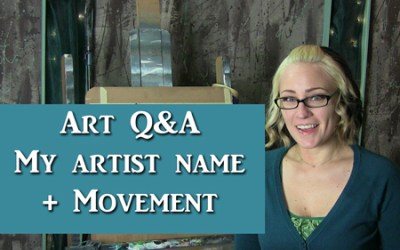 Art Q&A – My artist name and creating movement on a swing