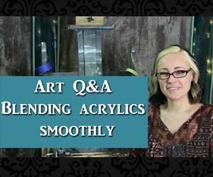Art Q&A blending acrylic paints