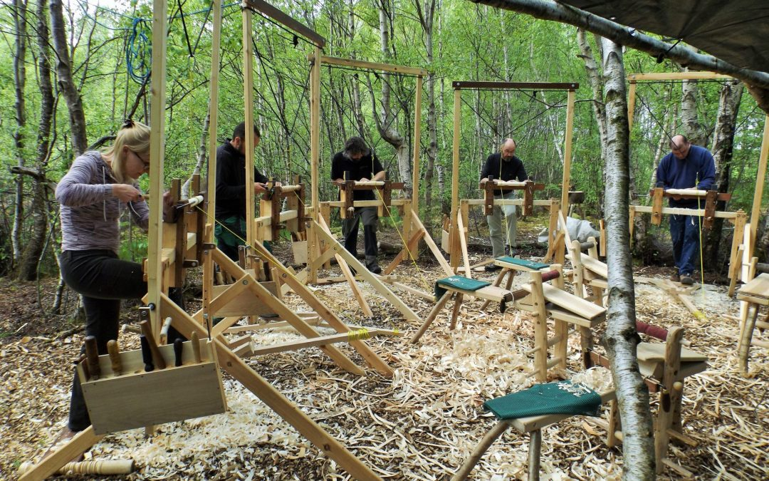 Basket Making Supplies Ireland : Green woodworking courses lackan cottage farm low