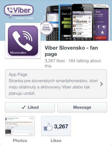 FB: Viber Slovensko