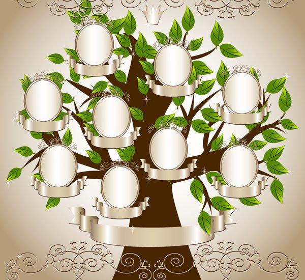 Un árbol genealógico para el Día de la familia y alguna idea más