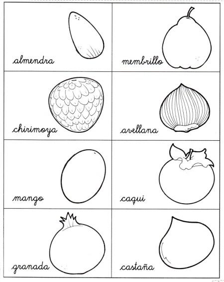 Verduras En Ingles Dibujos