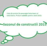 tarife constructii 2015