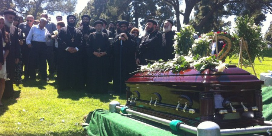 Burial of Fr. Angelos Youssef