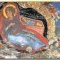 Coptic icon of the Nativity