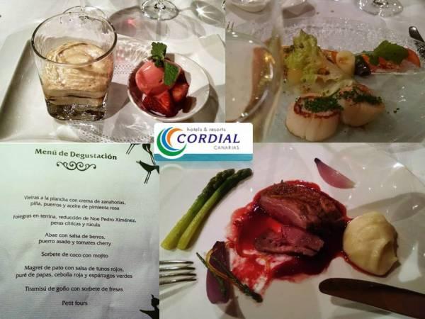 Cena en el hotel Cordial Mogán